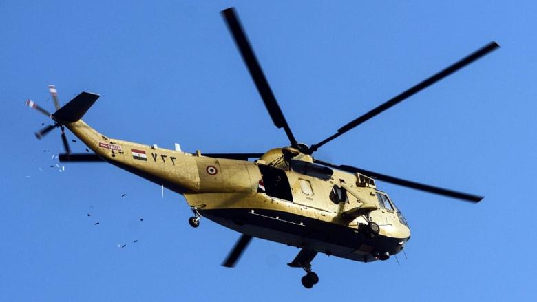 اتهامات لحماس بإسقاط مروحية للجيش المصري في سيناء