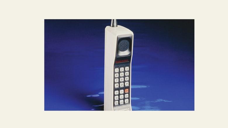 ثمانية اختراعات لموتورولا.. من بينها أول هاتف محمول في العالم
