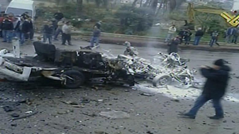 قتلى وجرحى بتفجير انتحاري استهدف حافلة بلبنان