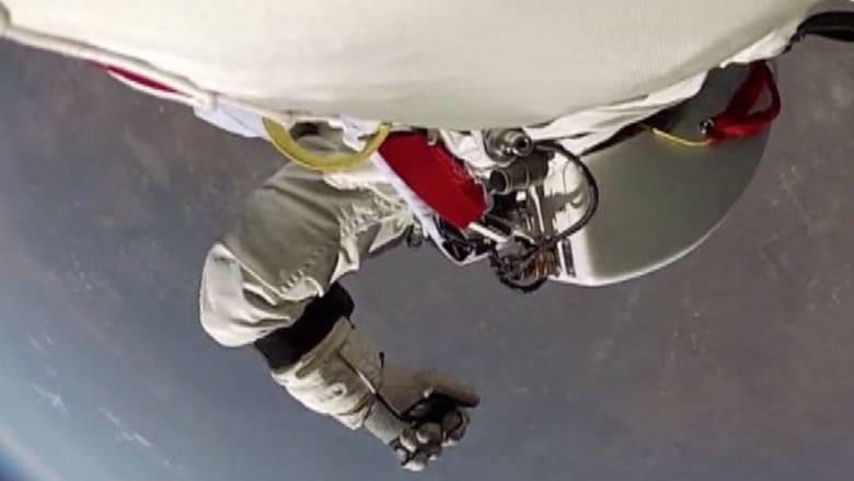 قفزة فيليكس من الفضاء.. كما لم تشاهدها من قبل