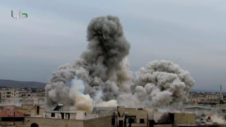 البراميل المتفجرة .. تنشر الموت في سوريا