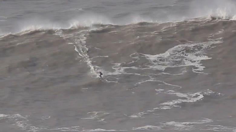 هل هذه أكبر موجة تم ركوبها؟