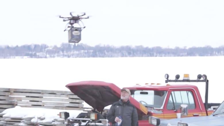 إيقاف خدمة لتوصيل الجعة عبر الطائرات الآلية