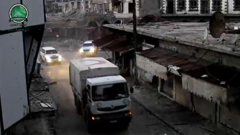 كيف بدأت مهمة عمال الإنقاذ بحمص؟