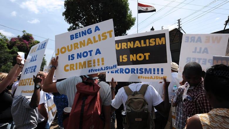 مصر تلحق بسوريا وإيران بقتل واعتقال الصحفيين