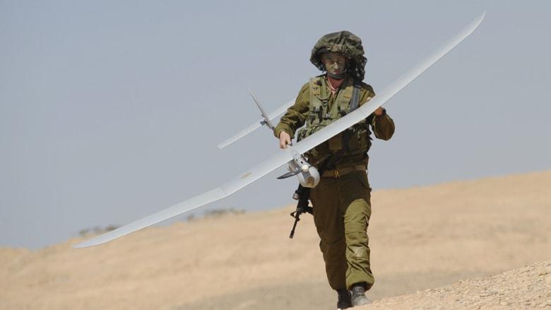 لبنان: محاولة إسرائيلية لسحب حطام طائرة موجهة والجيش يرد