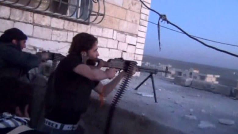 بالفيديو ..أمريكيون يتدربون في سوريا لشن هجمات في بلادهم