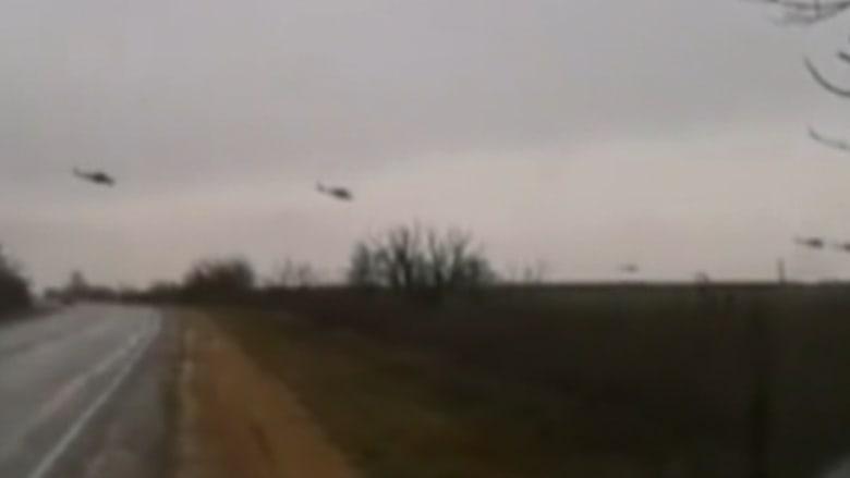بالفيديو.. طائرات روسية تحلق في أجواء أوكرانيا