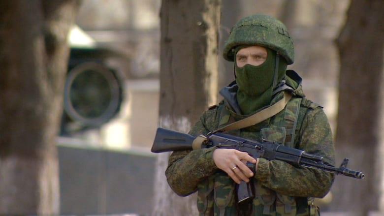 جنود مجهولون بأعداد ضخمة في القرم