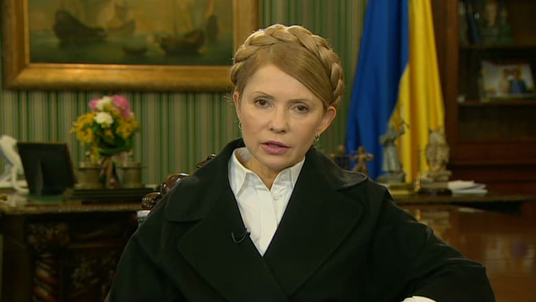 حصريا.. تيموشينكو: على العالم استخدام القوة القصوى لتجنب خسارة أوكرانيا للقرم