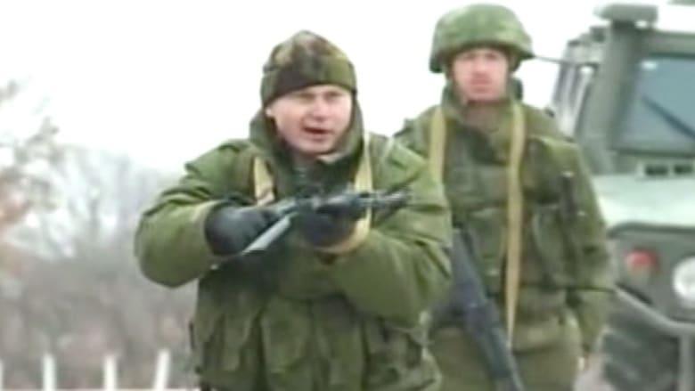 تحرشات بين جنود أوكرانيين وروس بالقرم