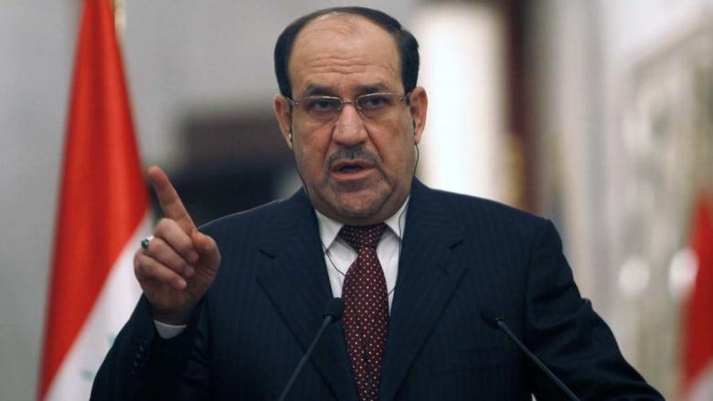 """المالكي: دعم السعودية وقطر لـ""""الإرهابيين"""" بسوريا والعراق إعلان حرب"""