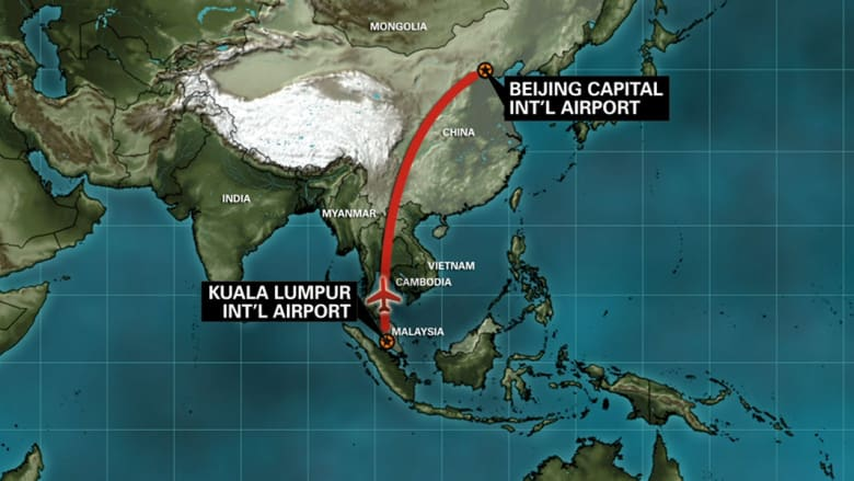 """راكبان بجوازي سفر مزورين على متن الطائرة الماليزية ورصد """"جسم غريب"""""""