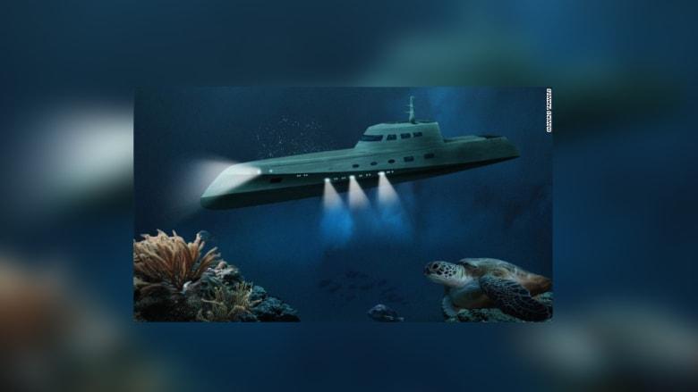 غواصة تتحول إلى فندق للعلاقات الغرامية في أعماق المحيطات