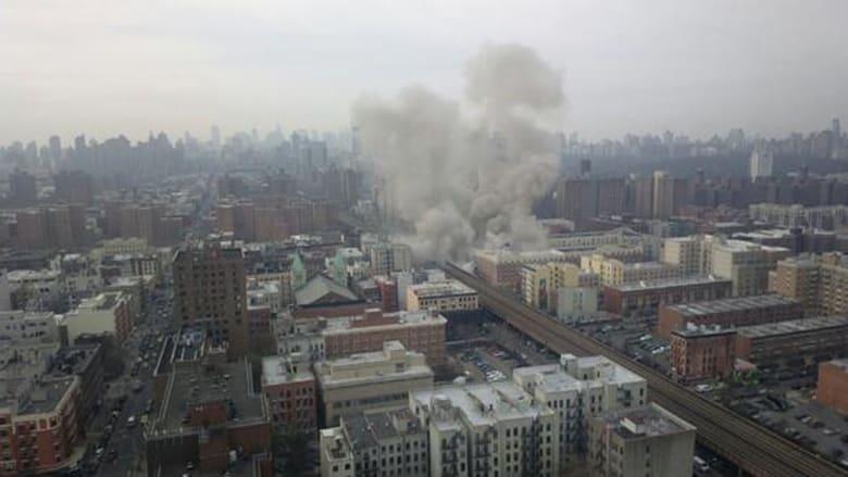 بالصور.. المشاهد الأولية لانفجار نيويورك