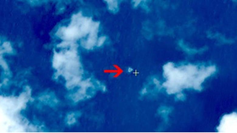 بالصور.. قمر صناعي صيني يلتقط صورا لما يعتقد أنه الطائرة الماليزية المفقودة