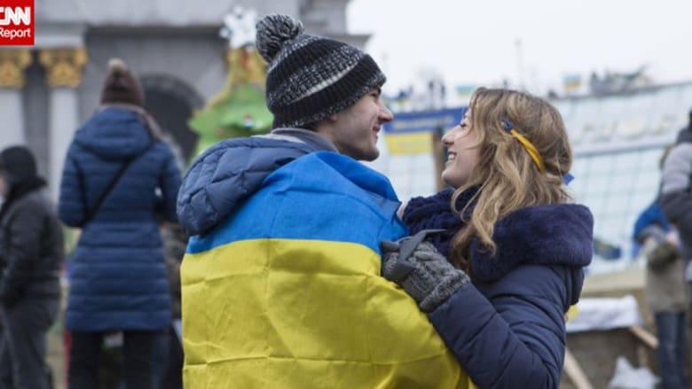 بالصور.. من أوكرانيا مع الحب