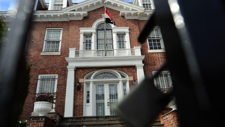 """سوريا: إغلاق سفارتتا بواشنطن """"تلاعب بالحقائق"""""""