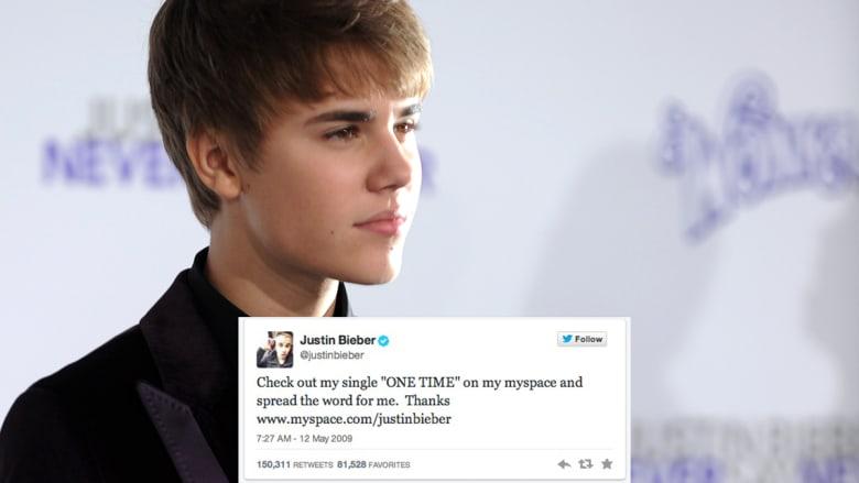أول تغريدات لشخصيات مشهورة