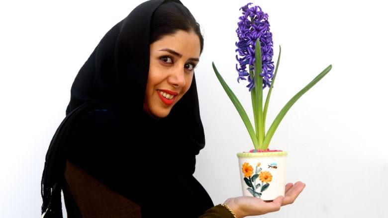 النوروز يفيض بـ 14 ألف زهرة إيرانية إلى كربلاء