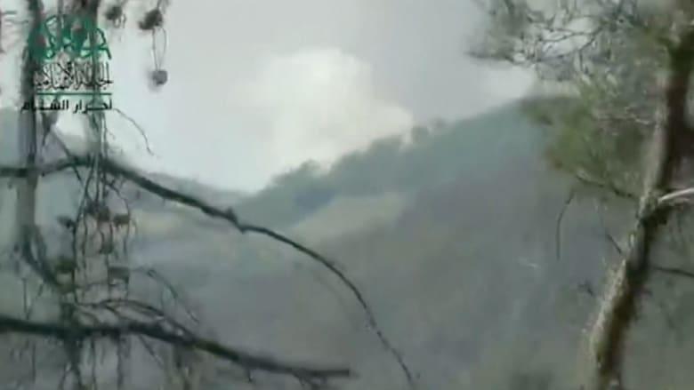 إسقاط طائرة سورية على الحدود التركية