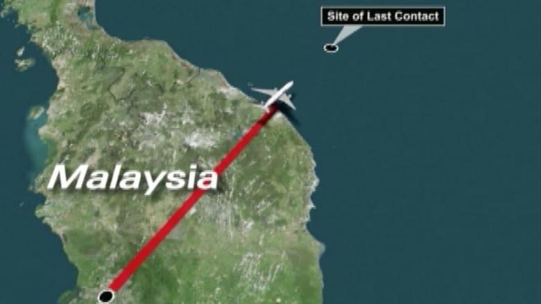 هذا هو مسار الطائرة الماليزية المنكوبة.. بحسب المحققين البريطانيين
