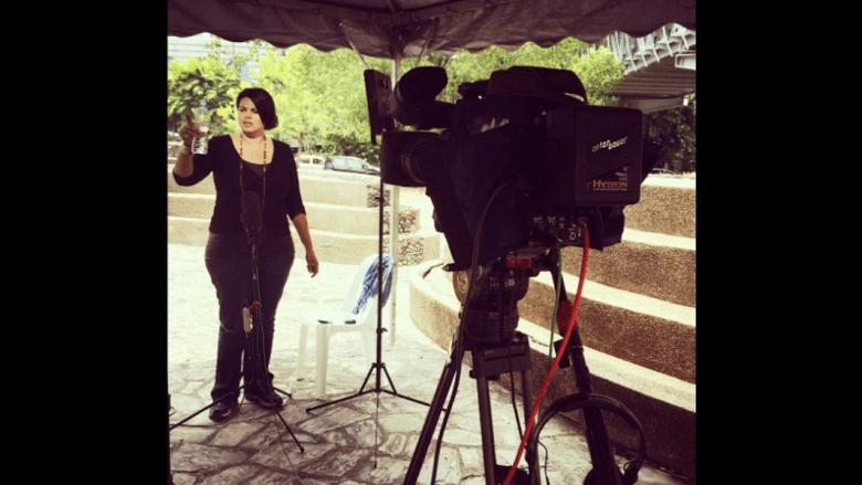 بالصور.. جانب من تغطية CNN لتطورات الطائرة الماليزية المفقودة