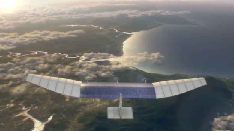 فيسبوك ستوفر انترنت في المناطق النائية بطائرات دون طيار