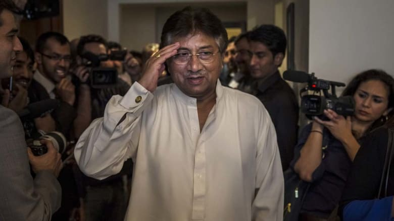 اتهام مشرف بالخيانة العظمى والأخير يرد: باكستان ازدهرت بعهدي