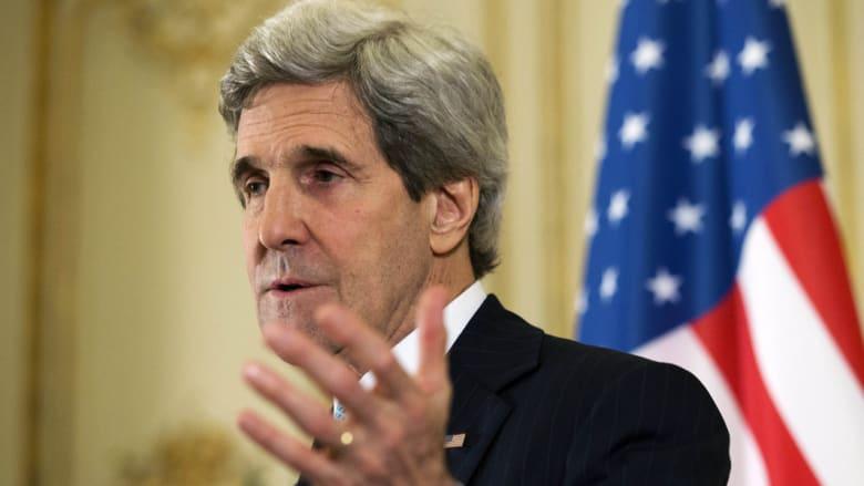 كيري بالشرق الأوسط الاثنين لدفع عملية السلام