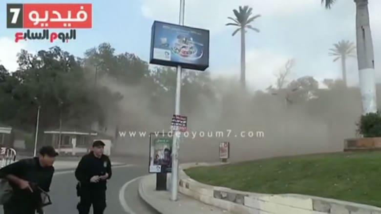 """انفجارات بـ""""أشجار مفخخة"""" أمام جامعة القاهرة"""