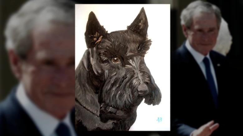 جورج بوش.. بيكاسو اليوم؟