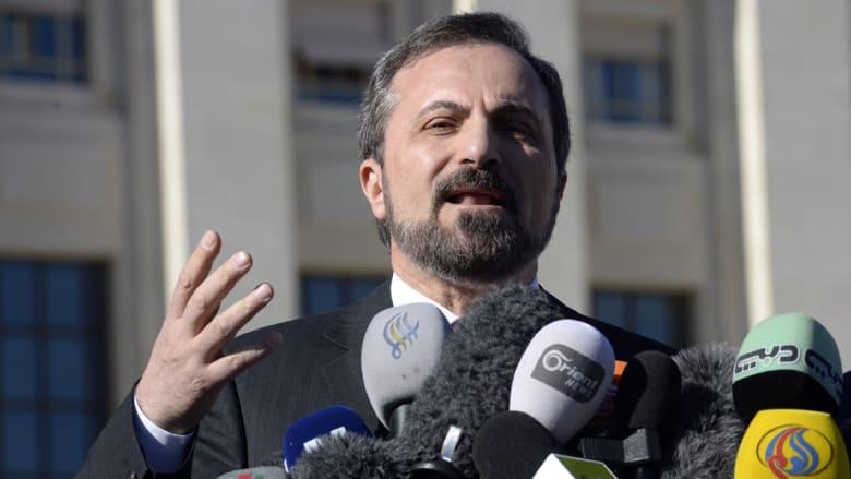 """الائتلاف: الإبراهيمي قال بوضوح """"الطرف المعطل هو وفد النظام"""""""
