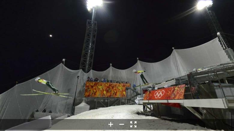 شاهد هذه القفزة من سوتشي بـ 360 درجة