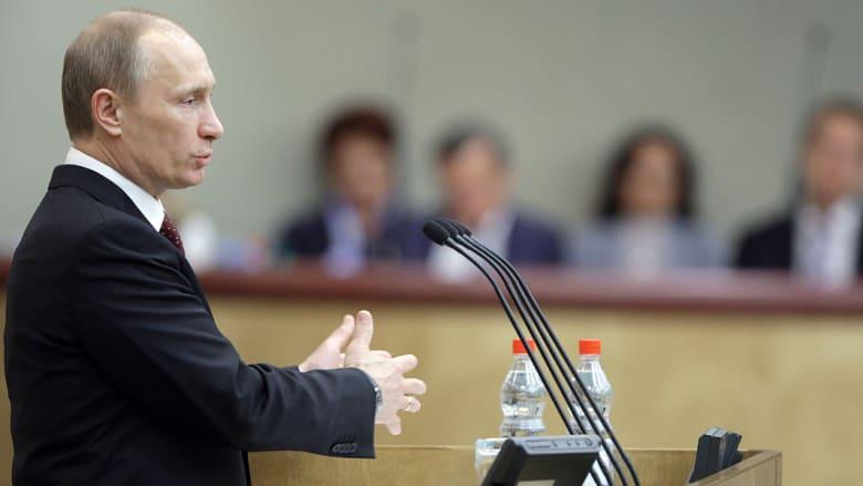 بوتين يبلغ الدوما طلب برلمان القرم الانضمام إلى روسيا