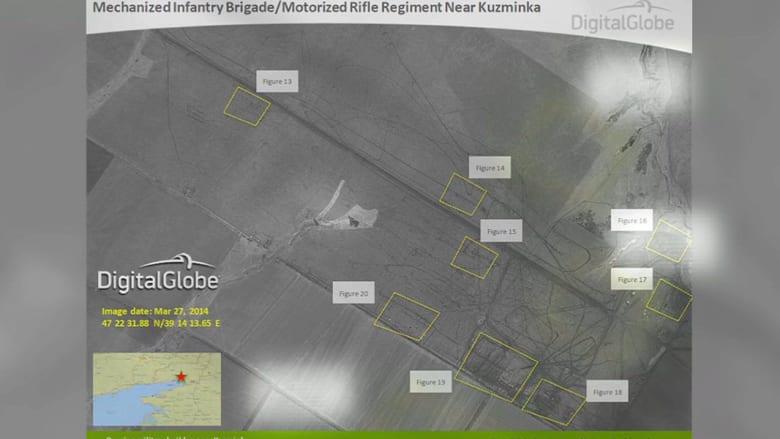 الناتو ينشر صورا تزعم حشد روسيا لجنودها بالقرب من أوكرانيا