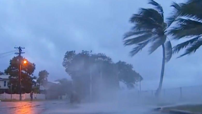 إعصار إيتا يضرب أستراليا بقوة أقل من التوقعات