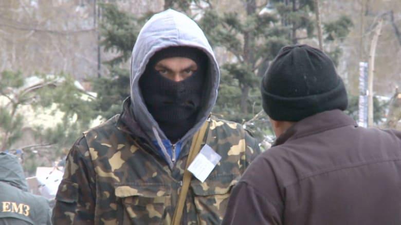 الحكومة الأوكرانية تتوعد المتظاهرين دون تحريك ساكن