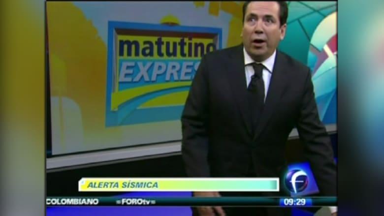 بالفيديو.. رعب على الهواء لحظة وقوع زلزال المكسيك