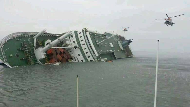 """""""الغرق مع الغارقين"""" تحوّل قبطان السفينة الكورية إلى متهم"""
