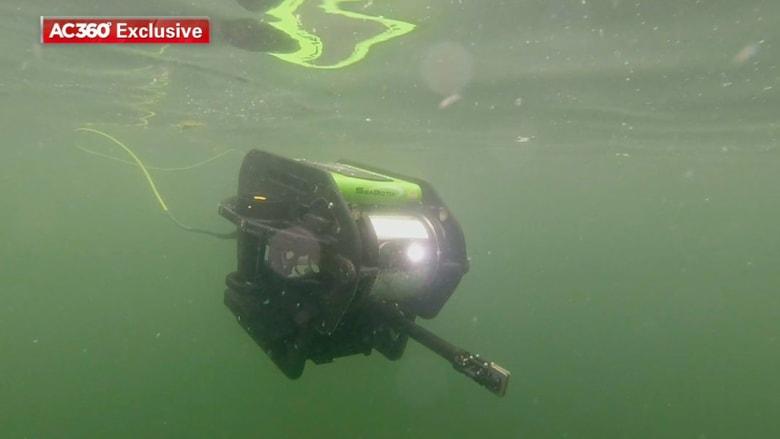 تعرف على عملية بحث الروبوتات عن الأجسام في أعماق المحيط