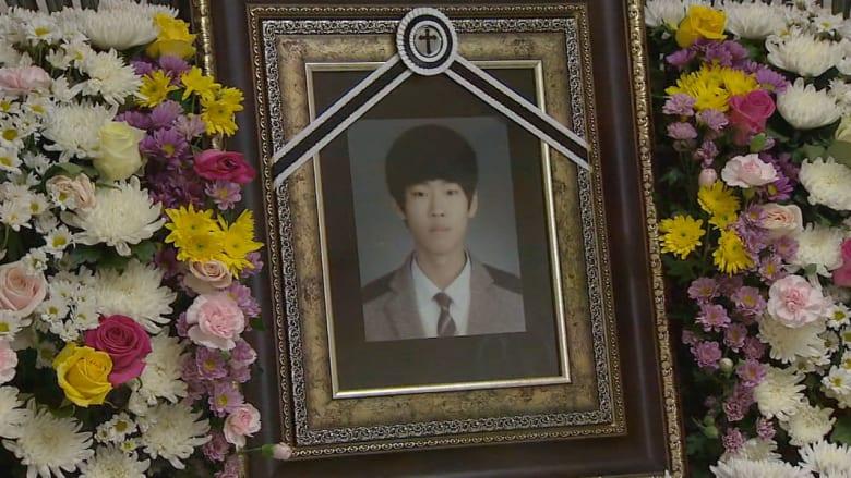 شاب ضحى بحياته لإنقاذ العشرات بحادثة العبارة الجنوب كورية