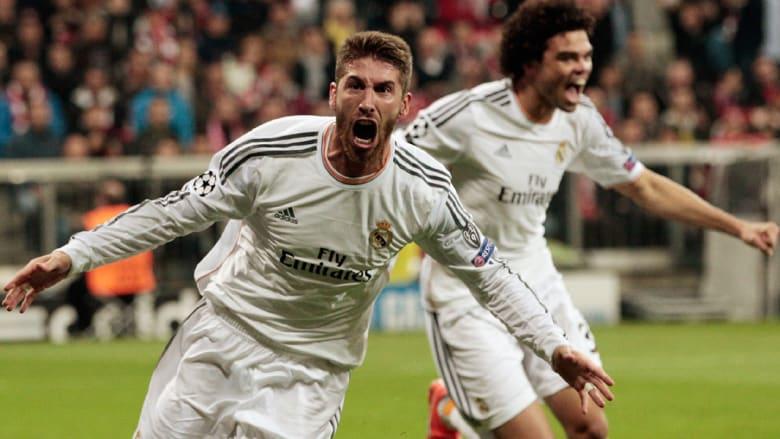 من مباراة ريال مدريد وبايرن ميونيخ