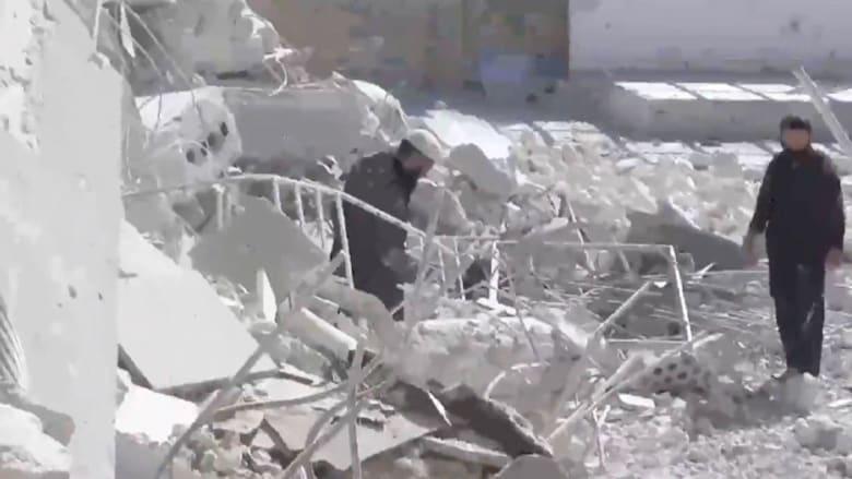 مقتل 25  طفلا بقصف جوي على مدرسة بحلب