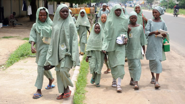 """نيجيريا: مظاهرات لأهالي عشرات الفتيات اختطفهن جماعة """"بوكو حرام"""""""