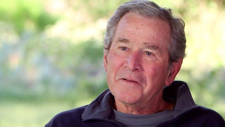 في مقابلة حصرية لـ CNN  جورج بوش يتمنى أن يترشح أخوه للرئاسة