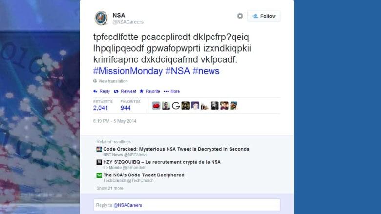 """انكشاف سر """"تغريدة مشفّرة"""" أرسلها جهاز مخابرات أمريكي عبر تويتر"""
