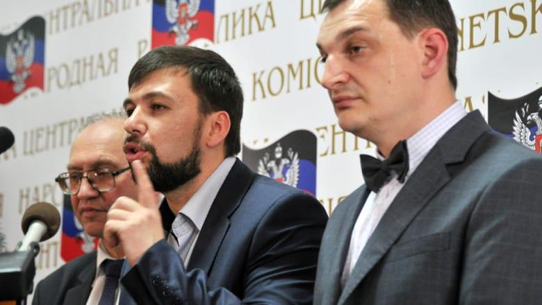 """بوشيلين """"الزعيم المُنصّب"""" على دونيتسك يطلب انضمامها إلى روسيا"""