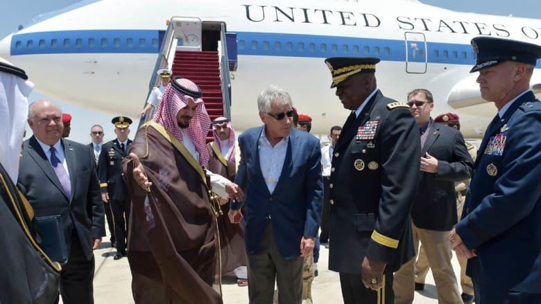 هيغل بالسعودية لبحث ملفات سوريا وإيران.. ويشهد لقاء دفاعيا خليجيا بحضور قطر