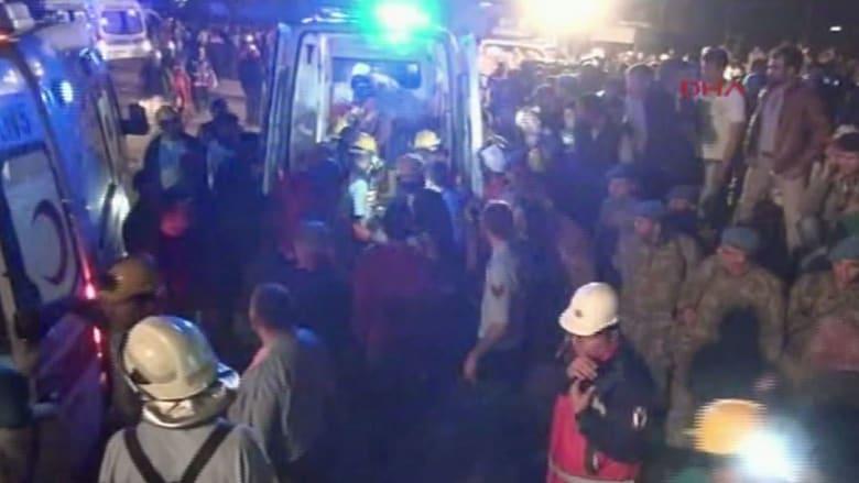 أكثر من 200 قتيل وجريح بانفجار منجم فحم في تركيا
